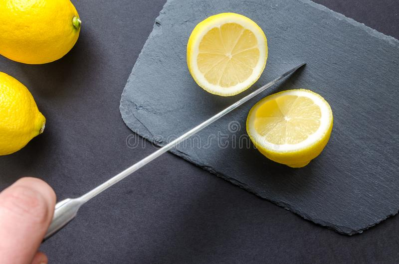 Photo of Sliced Lemon stock photos
