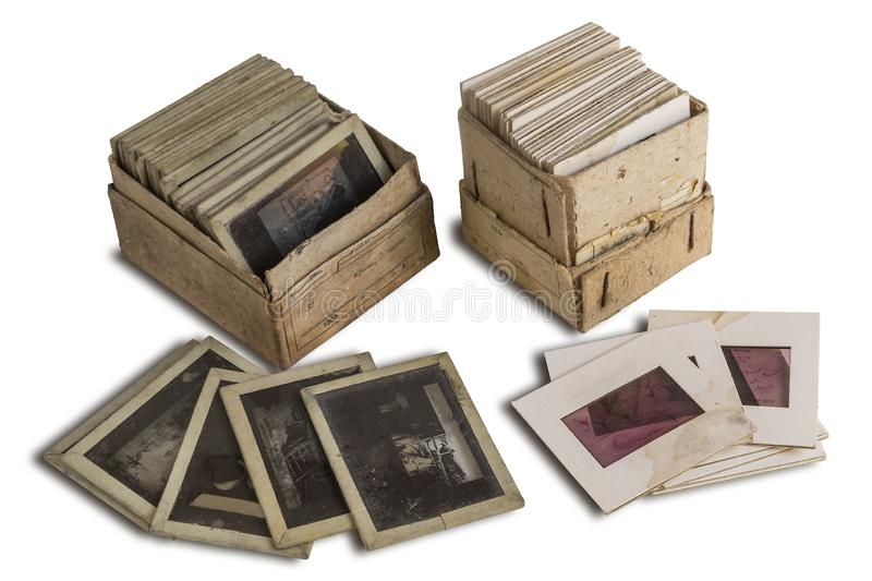 Photo slides old royalty free stock photography