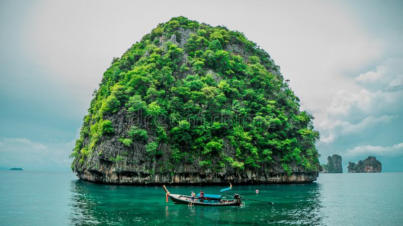Photo of the small island royalty free stock photography