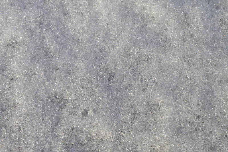 Photo of snow for use as a background. Separate layers with uneven snow surface for use as a background royalty free stock photography