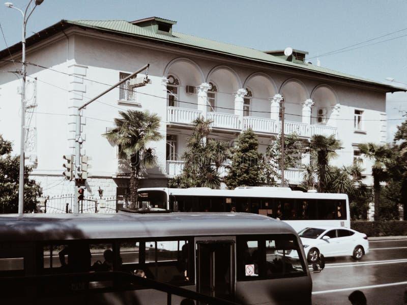 Photo of sochi street life stock photo