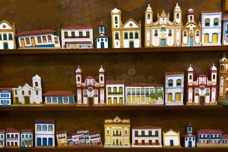 Souvenir Store in Paraty. Photo of a souvenir store in Paraty - Rio de Janeiro - Brazil royalty free stock image
