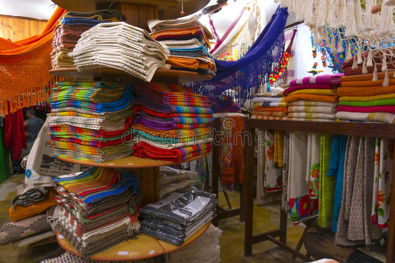Souvenir Store in Paraty. Photo of a souvenir store in Paraty - Rio de Janeiro - Brazil stock photo