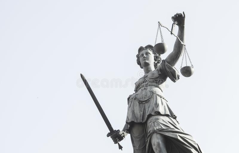 Photo of statue of Lady Justice statue stock photos