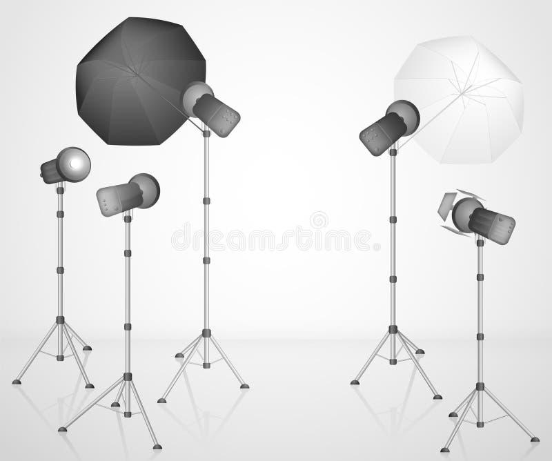 Download The photo studio stock vector. Image of studio, place - 25616303