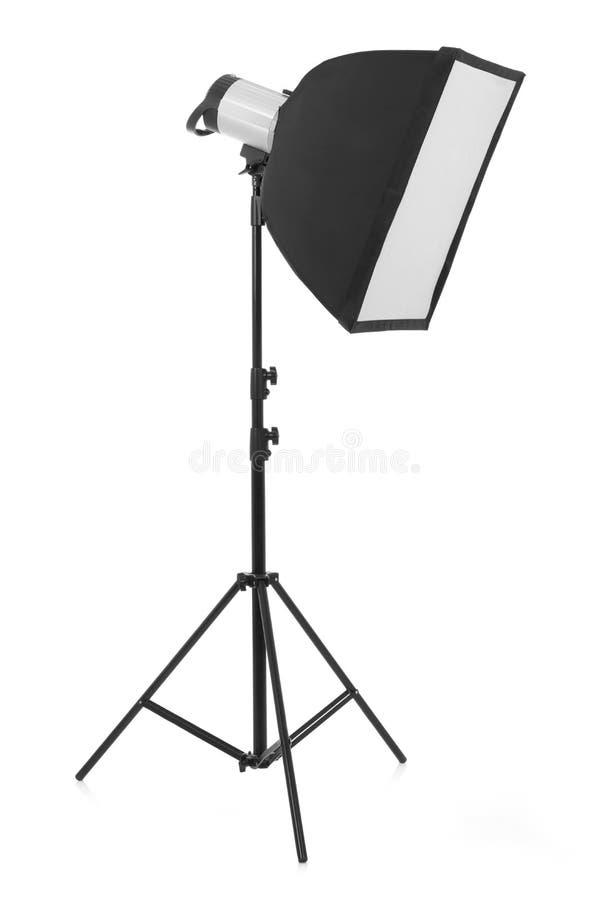 Studio photo light royalty free stock photo