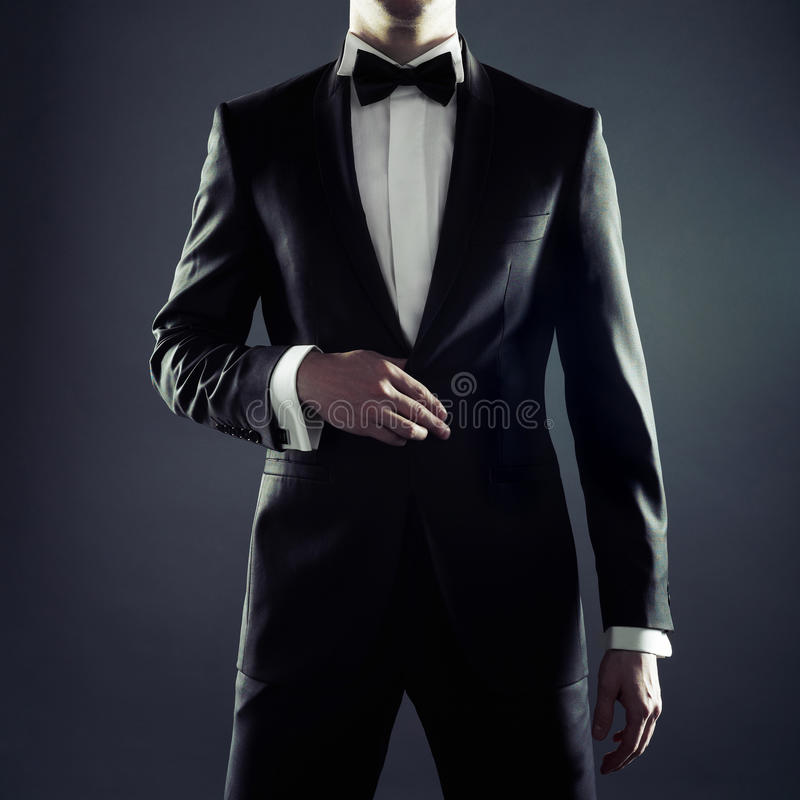 Stylish man royalty free stock images
