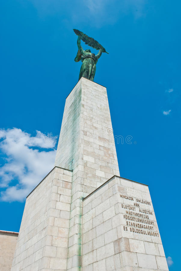 Statue of Liberty in Budapest stock photography