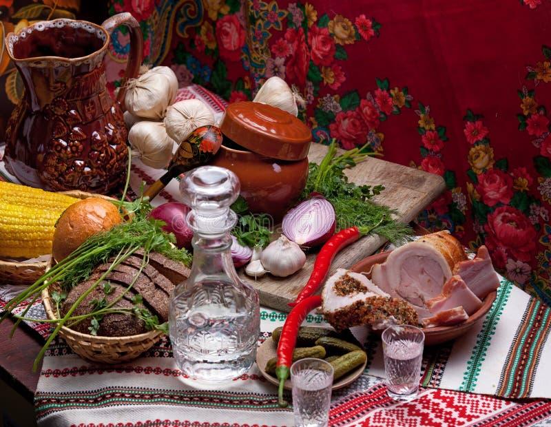 Traditional Vodka Drink Onion