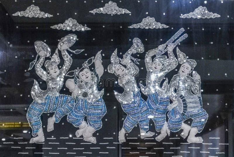 Artwork in pugan,myanmar. The photo is taiken in pugan,myanmar stock photography