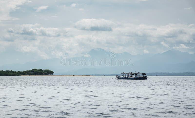 Boat to Menjangan Island. This photo taken on the boat enroute to Menjangan Island Bali, Indonesia stock photos
