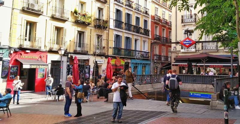 Chueca, Madrid royalty free stock image