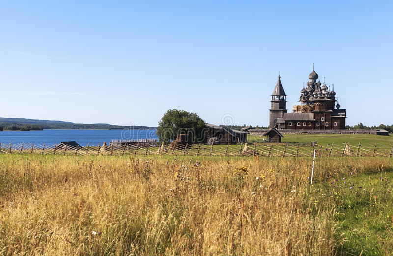 Kizhi Island in Russia royalty free stock images