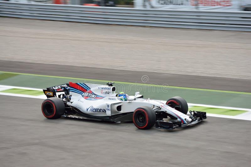Williams F1 royalty free stock photos
