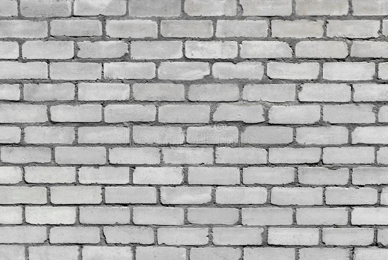 Photo texture of an old white brick wall royalty free stock photography