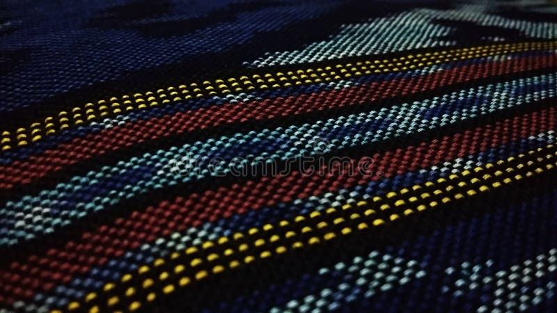 Photo traditionnelle de motif de textile tissé photo libre de droits