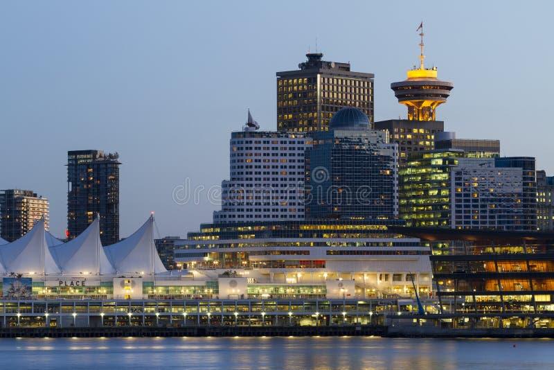 Vancouver Skyline stock photography