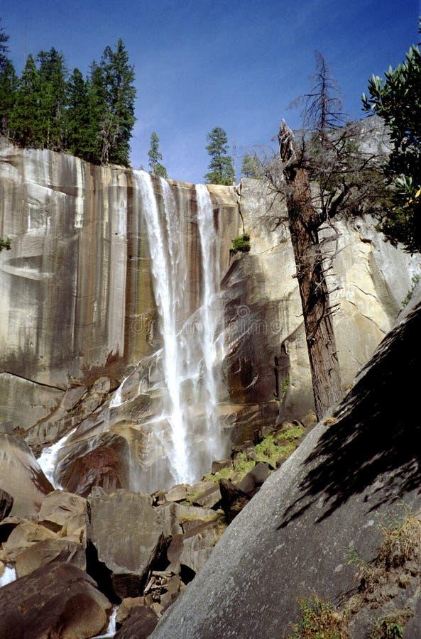 Vernal Falls in Yosemite National Park stock photo