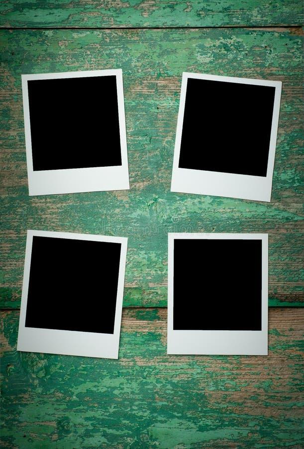 Photo vide de vintage sur la table en bois image libre de droits