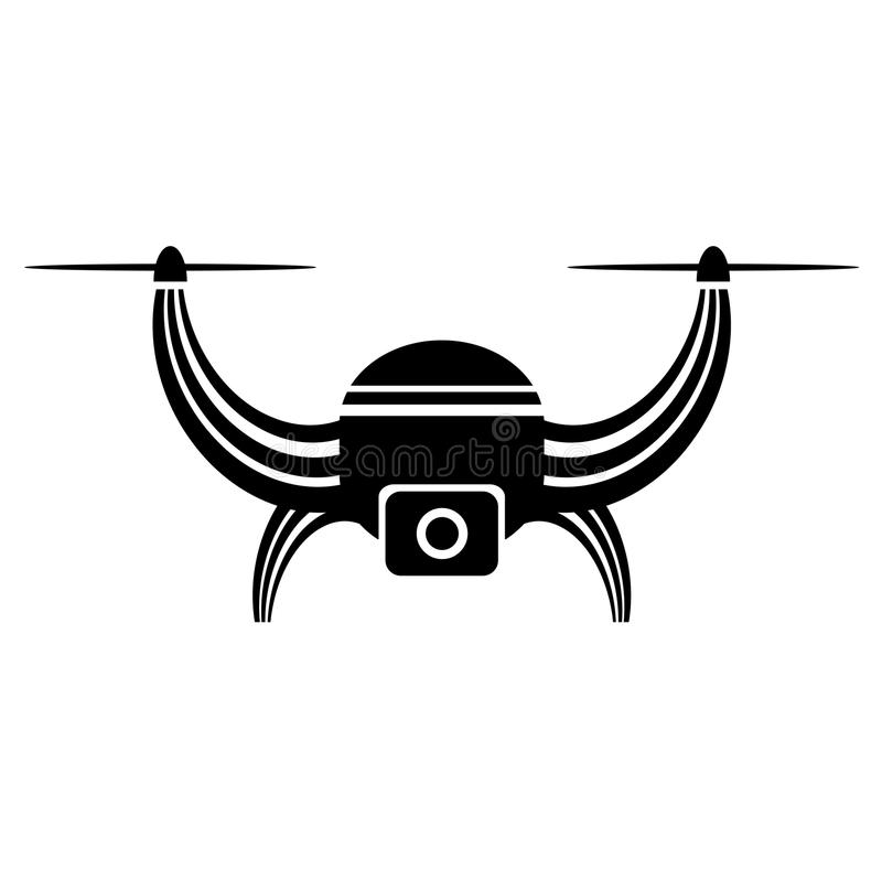 Download Air Drone Icon Isolated Stock Vector Illustration Of Camera