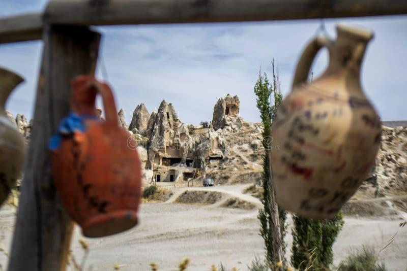 Goreme, Cappadocia. Photo was taken in Goreme, Cappadocia, Turkey royalty free stock photo