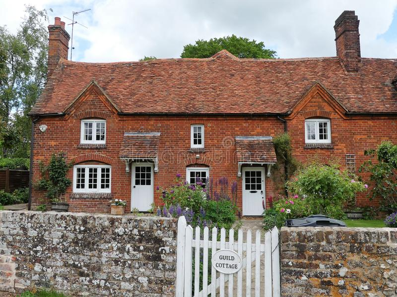 Guild Cottage, The Lee, Buckinghamshire royalty free stock photography