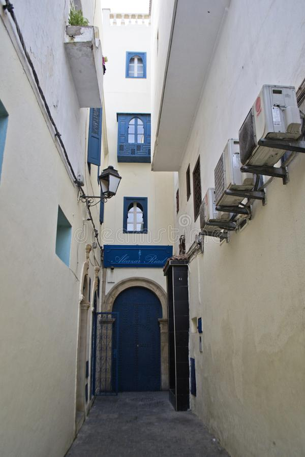 Kasbah of the Udayas. Photo was taken in Rabat, Morocco royalty free stock photography