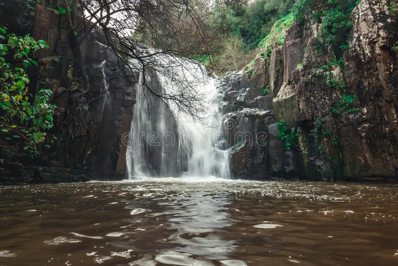 Photo of Waterfall mountain stock photography