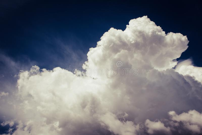 Photo of White Clouds stock photography