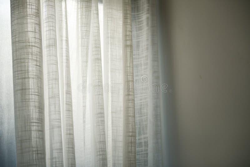 Photo of White Curtains stock image