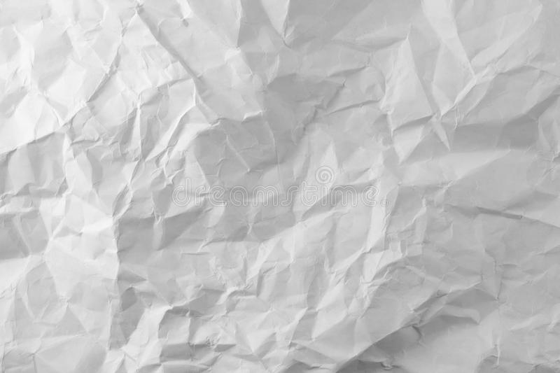 Download Photo White Sheet Of Crumpled Paper Royalty Free Stock Images - Image: 36152089