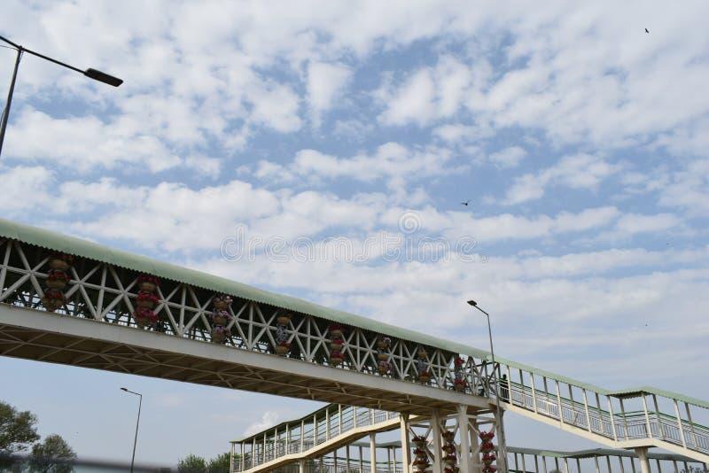 Campus bridges in Lahore royalty free stock photo