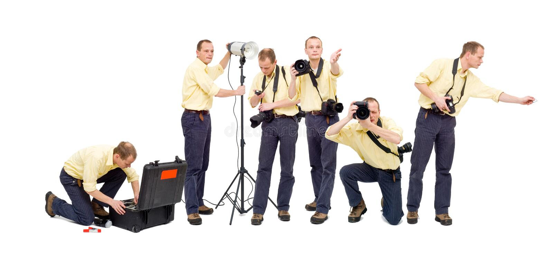 Photo workflow stock photo