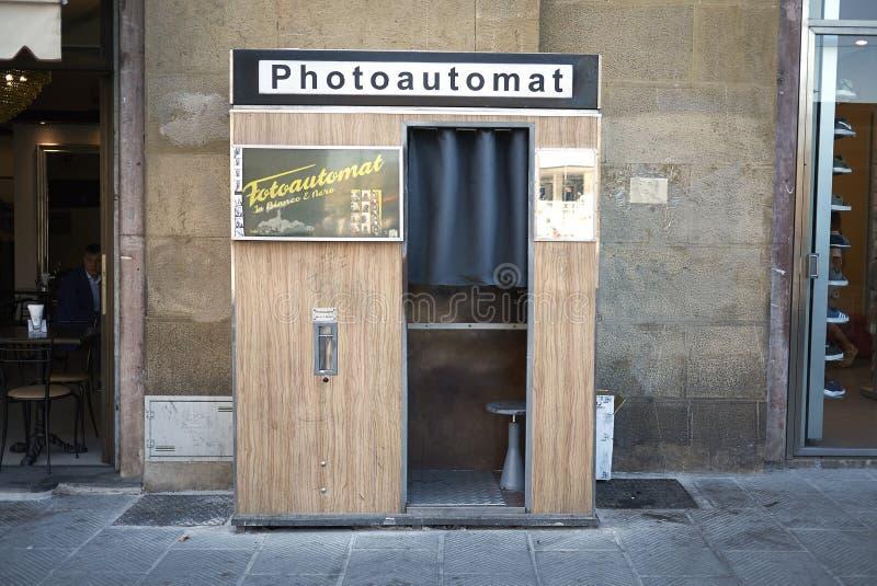 Photoautomat en Florencia imágenes de archivo libres de regalías