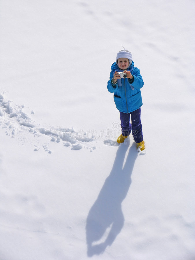 photocamera młode dziewczyny zdjęcie royalty free