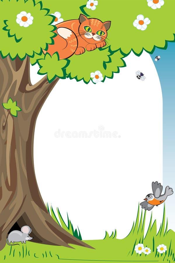 photoframe сада бесплатная иллюстрация