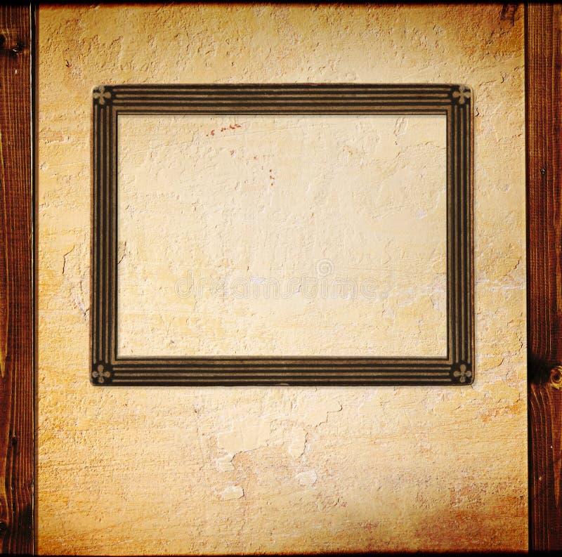 Photoframe dell'annata illustrazione vettoriale