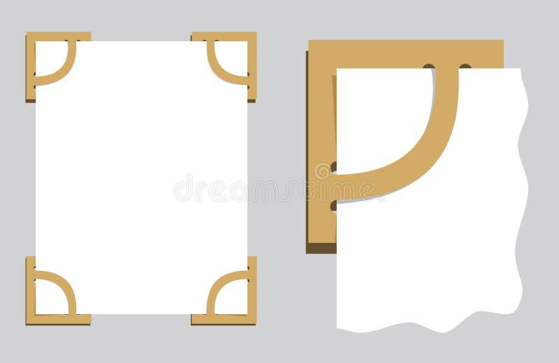 Photoframework illustrazione di stock