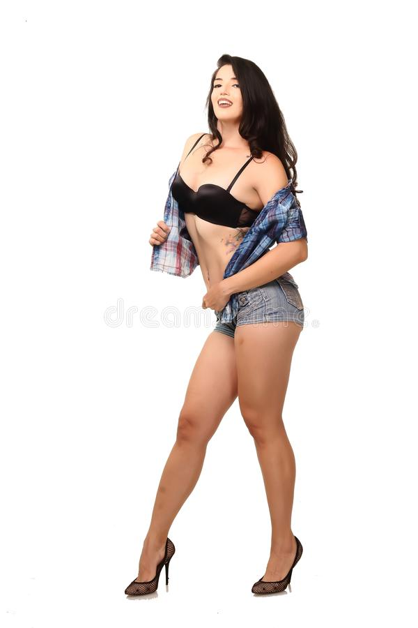 RMM_pinup_226 royalty free stock image