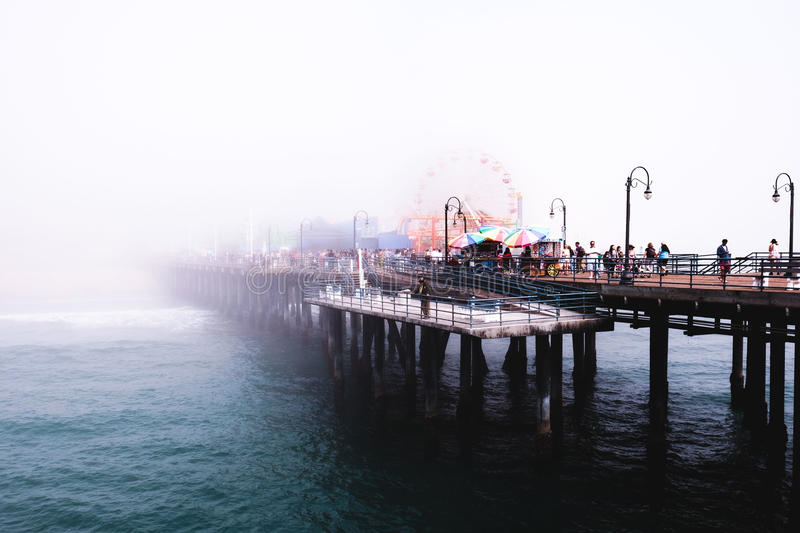Photograph Of Bridge Covered By Fog Free Public Domain Cc0 Image