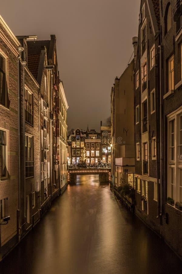 Amsterdam light festival royalty free stock images