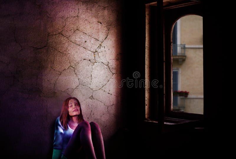 Photograph, Darkness, Light, Girl Free Public Domain Cc0 Image