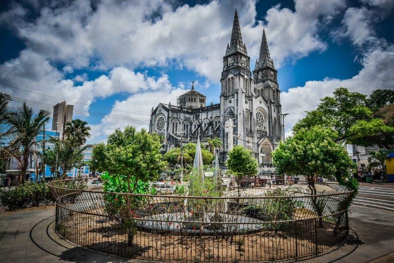 Fortaleza Metropolitan Cathedral, Ceará, Brazil. royalty free stock image