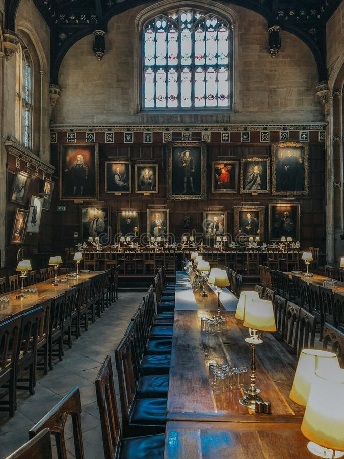 Photograph of a grand hall royalty free stock images