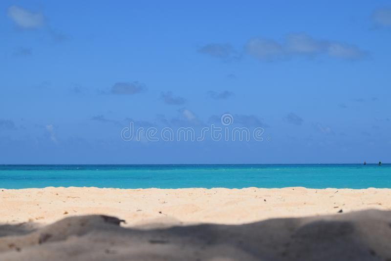 Pink Sand beaches of Bermuda stock photography