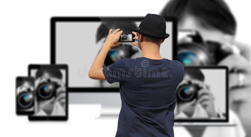 Photograph, Photographer, Camera Operator, Technology stock photo