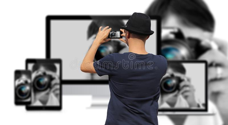 Photograph, Photographer, Camera Operator, Technology royalty free stock photography