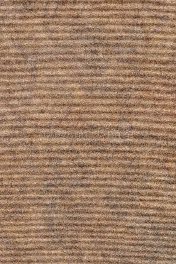 Photograph Of Recycle Coarse Grain Striped Brown Kraft Paper Mottled