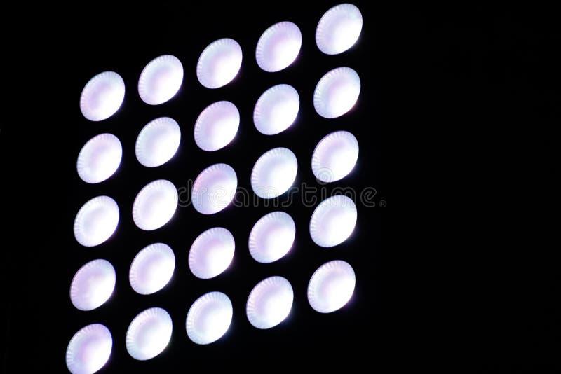 Abstract minimal lights photograph. Photograph of some abstract minimal circular lights royalty free stock images