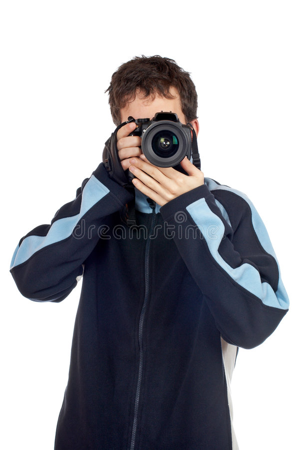Photographe photo stock